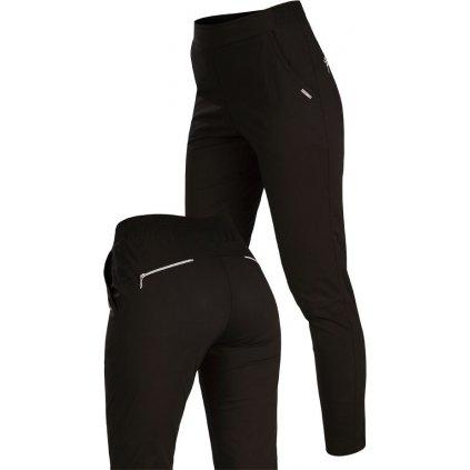 Dámské kalhoty do pasu LITEX dlouhé černé