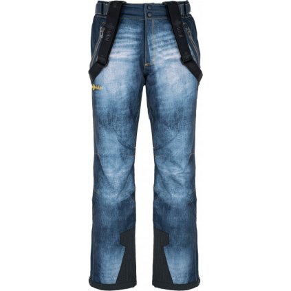 Pánské lyžařské kalhoty KILPI Denimo-m tmavě modrá