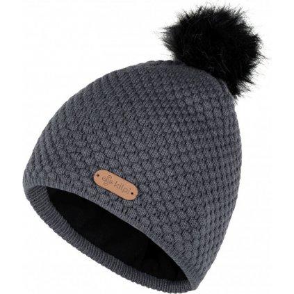 Dámská zimní čepice Alpina-w tmavě šedá