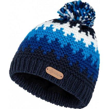 Pánská zimní čepice KILPI Skal-m tmavě modrá