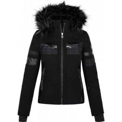 Dámská vyhřívaná lyžařská bunda KILPI Aniela-w černá