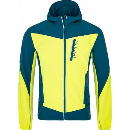 Pánská běžecká bunda KILPI Balans-m světle zelená