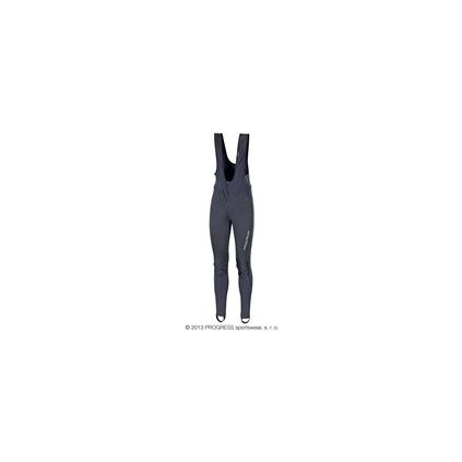 ZEPHYR zimní elastické kalhoty s kšandami (Barva černá, Velikost S)