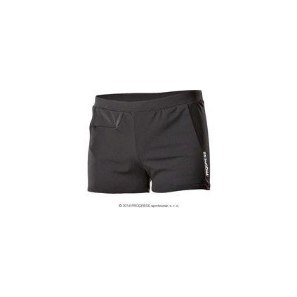 CAPITAN pánské sportovní plavky s nohavičkou (Barva Modrá, Velikost 52)