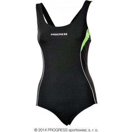 Dámské sportovní jednodílné plavky PROGRESS Orca  + Sleva 5% - zadej v košíku kód: SLEVA5