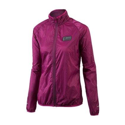 Běžecká Ultra Light bunda AMELIA (Barva fialková, Velikost XL)
