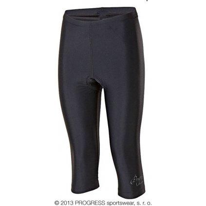 Dámské 3/4 cyklo kalhoty PROGRESS Simple L 3Q  + Sleva 5% - zadej v košíku kód: SLEVA5