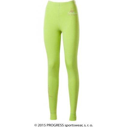 E SDNZ dámské dlouhé spodky bambus (Barva sv.zelená, Velikost XL)