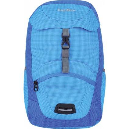 Dětský batoh   Junny 15l modrá  + Reflexni páska žlutozelená