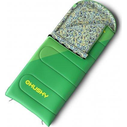 Spacák HUSKY Outdoor Kids Milen -5°C zelená  + Sleva 5% - zadej v košíku kód: SLEVA5
