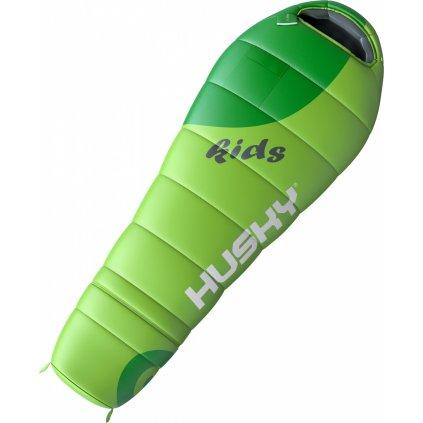 Spacák Outdoor Kids Magic-12°C zelená  + Outdoorová voděodolná svítilna LED