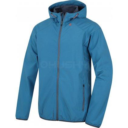Pánská softshell bunda   Sally M modrá (Velikost XXL)