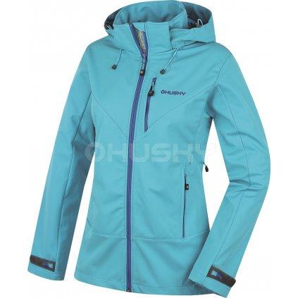 Dámská outdoor bunda  Spoly L modrá (Velikost XL)