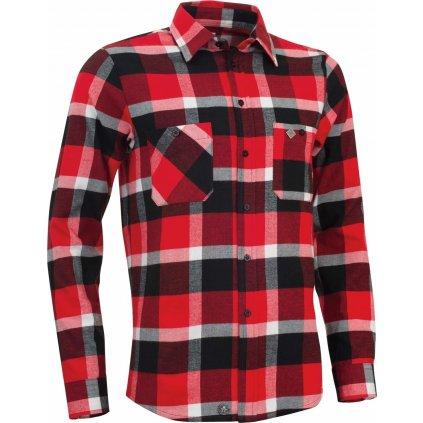 Pánská košile Flannel Rider Men´s Fiery (Velikost XXL)