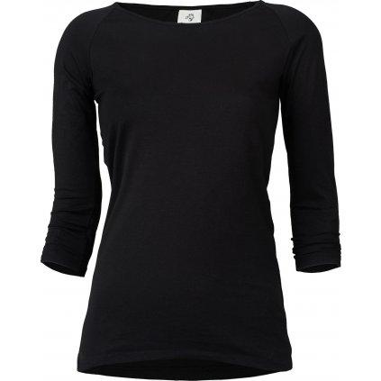 Dámské tričko Ellen long black (Velikost 46)