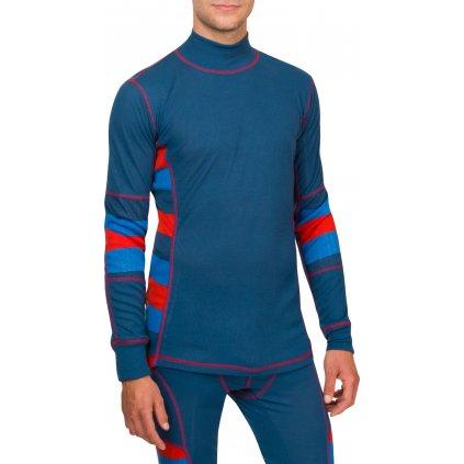 Pánské triko Bodyheat Men´s Long Sleeve Dark (Velikost XXL)