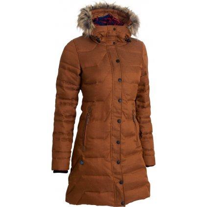 Dámská zimní bunda WOOX Wintershell Ladies´ Coat Oragne  + Sleva 5% - zadej v košíku kód: SLEVA5