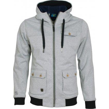 Pánská bunda Woolshell Men´s Jacket Grey (Velikost XXL)