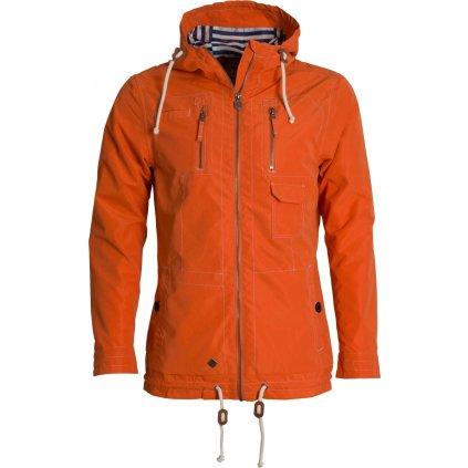 Pánská bunda WOOX Drizzle Jacket Men´s Orange  + Sleva 5% - zadej v košíku kód: SLEVA5