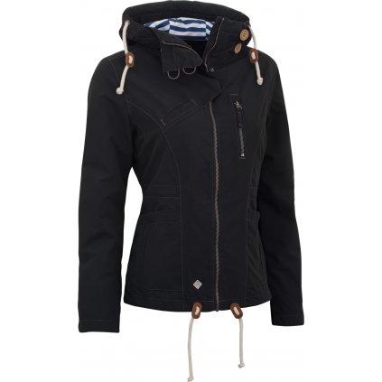 Dámská podzimní bunda WOOX Drizzle Jacket Ladies´ Dark  + Sleva 5% - zadej v košíku kód: SLEVA5