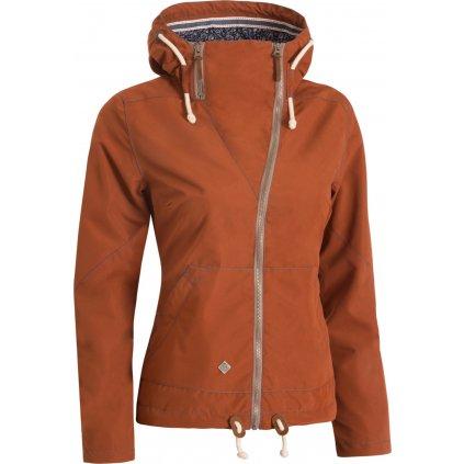 Dámská podzimní bunda WOOX Ventus Urban Ginger Chica  + Sleva 5% - zadej v košíku kód: SLEVA5