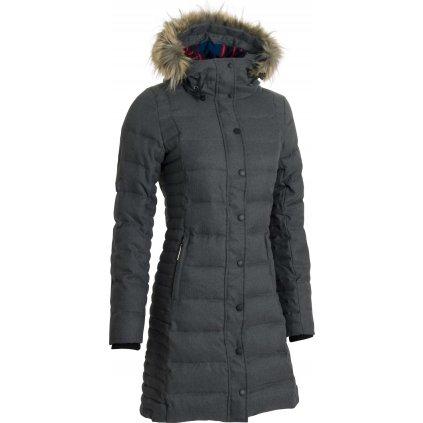 Dámská zimní bunda Wintershell Ladies´ Coat Grey (Velikost 34)