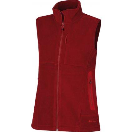 Dámská outdoorová vesta HUSKY Brofer L červená  + Sleva 5% - zadej v košíku kód: SLEVA5