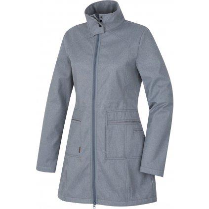 Dámský softshellový kabátek HUSKY  Sivien L šedá  + Sleva 5% - zadej v košíku kód: SLEVA5