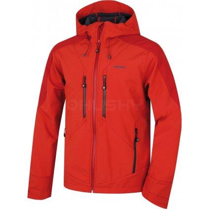 Pánská softshell bunda   Sevan M sv. červená (Velikost XXL)