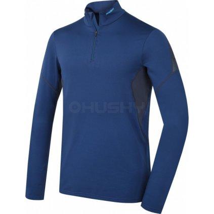 Pánské termo triko - podzim, zima  HUSKY Active winter long zip tm.modrá  + Sleva 5% - zadej v košíku kód: SLEVA5