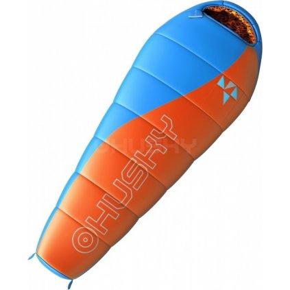 Spacák HUSKY Outdoor  Kids Merlot -10°C oranžová  + Sleva 5% - zadej v košíku kód: SLEVA5