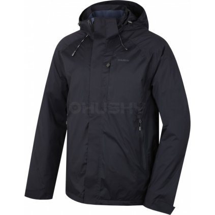 Pánská hardshell bunda HUSKY  Nia M černá  + Sleva 5% - zadej v košíku kód: SLEVA5