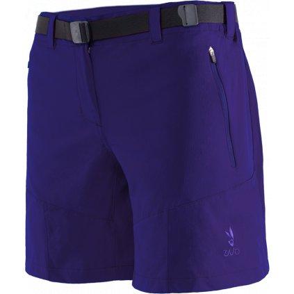 Dámské kraťasy ZAJO Tabea W Shorts fialová  + Sleva 5% - zadej v košíku kód: SLEVA5
