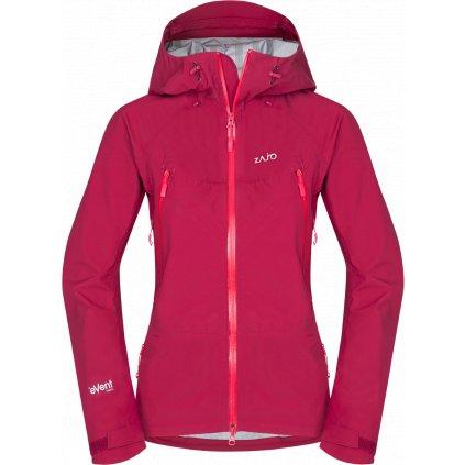 Dámská nepromokavá lyžařská bunda ZAJO Silvretta W Jkt růžová  + Sleva 5% - zadej v košíku kód: SLEVA5
