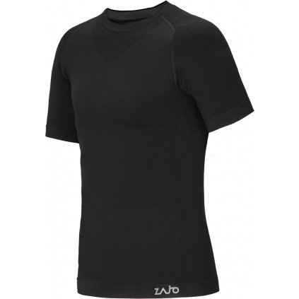 Pánské tričko ZAJO Contour M T-shirt SS černá  + Sleva 5% - zadej v košíku kód: SLEVA5