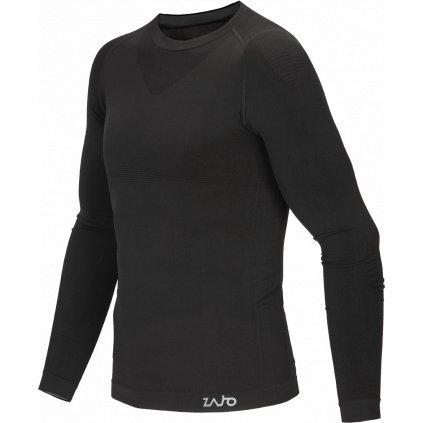 Pánské triko ZAJO Contour M T-shirt LS černá  + Sleva 5% - zadej v košíku kód: SLEVA5