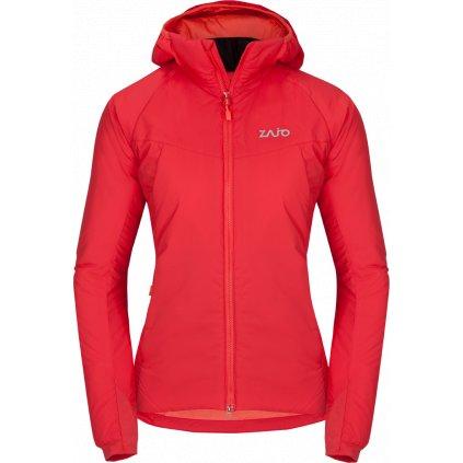 Dámská zimní lyžařská bunda ZAJO Alta W Jkt rudá  + Sleva 5% - zadej v košíku kód: SLEVA5