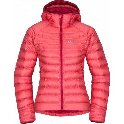 Dámská zimní bunda ZAJO Livigno W Jkt růžová  + Sleva 5% - zadej v košíku kód: SLEVA5