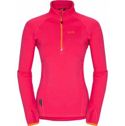 Dámská fleecová bunda ZAJO Anniviers W Pull fialová  + Sleva 5% - zadej v košíku kód: SLEVA5