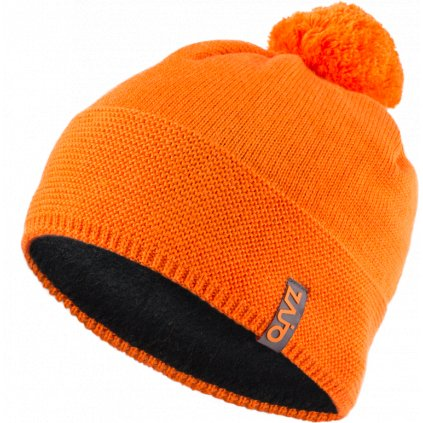 Čepice Sari W Beanie oranžová (Velikost UNI)