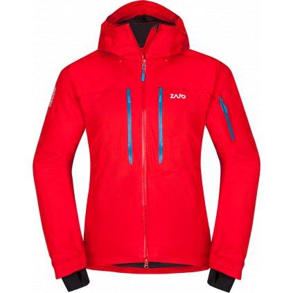 Pánská nepromokavá bunda ZAJO Nuuk Neo Jkt rudá  + Sleva 5% - zadej v košíku kód: SLEVA5