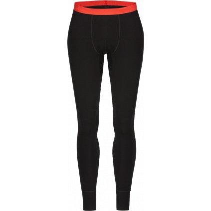 Pánské spodky Bergen Merino Pants černá (Velikost 3XL)