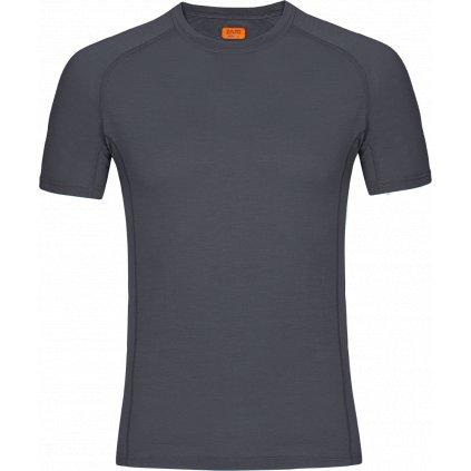 Pánské tričko Bjorn Merino Tshirt SS sivá (Velikost 3XL)