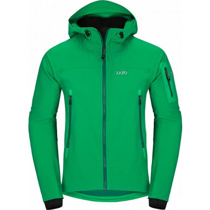 Pánská softshellová bunda ZAJOAir LT Hoody Jkt zelená  + Sleva 5% - zadej v košíku kód: SLEVA5