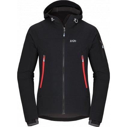Pánská softshellová bunda ZAJO Air LT Hoody Jkt černá  + Sleva 5% - zadej v košíku kód: SLEVA5