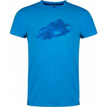 Pánské tričko Bormio T-shirt SS modrá (Velikost 3XL)