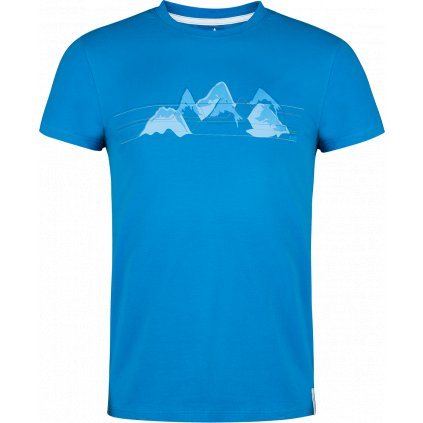 Pánské tričko Bormio T-shirt SS béžová (Velikost 3XL)