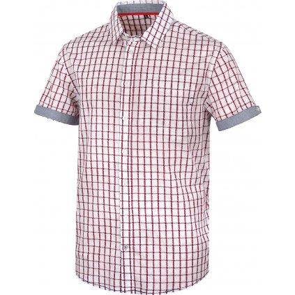 Pánská košile   Grimmy bílá/červená (Velikost XXL)