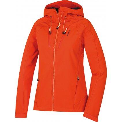Dámská softshellová bunda HUSKY Summy L oranžová  + Sleva 5% - zadej v košíku kód: SLEVA5