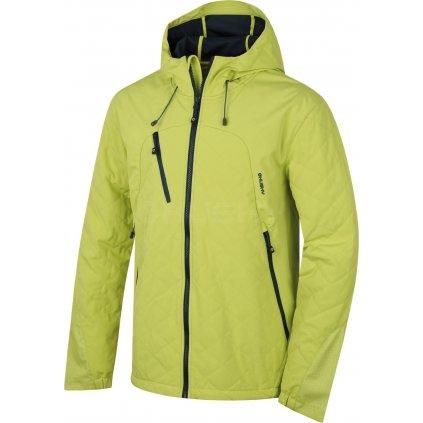 Pánská sotshell bunda  HUSKY Salex M sv. zelená  + Sleva 5% - zadej v košíku kód: SLEVA5